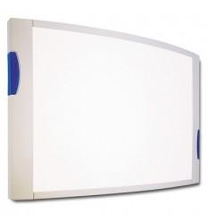 Доска магнитно-маркерная Hebel, 90х120см, лаковое покрытие, алюминиевая рама