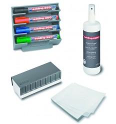 Набор принадлежностей для магнитно-маркерной доски, Edding BMA15S (6 предметов)