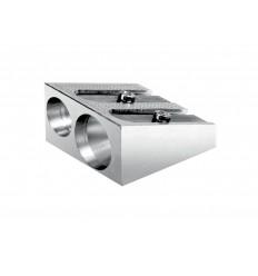 Точилка металлическая LYRA 9579, 2 отверстия
