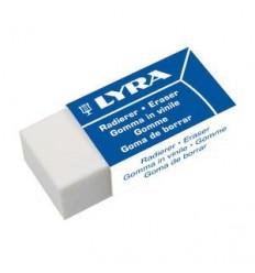 Ластик пластиковый офисный, LYRA 3457, в картонном держателе