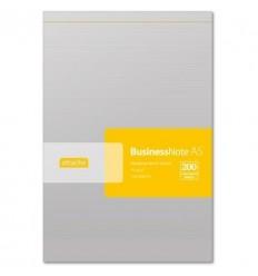 Блокнот чистый лист Attache, А5, 100 листов, скрепка с микроперфорацией
