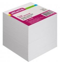 Блок-кубик запасной Attache белый, 9х9х9, 100 г/кв.м