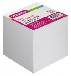 Блок-кубик запасной Attache белый, 9х9х9, 80 г/кв.м