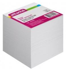 Блок-кубик на склейке Attache белый, 9х9х9, 100 г/кв.м