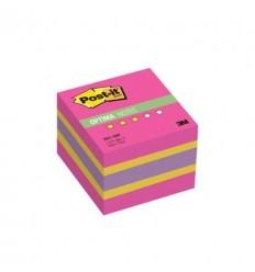 Куб с клейким краем Post-it OPTIMA 51х51 мм, осень, 3 цвета, 400 листов