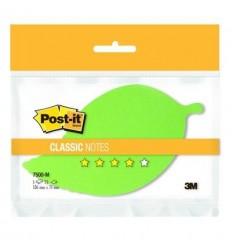 Бумага для заметок фигурная Post-it CLASSIC Листочек, 1 блокнот 75 листов