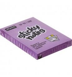 Бумага для заметок Attache Selection 38х51мм, фиолетовый неон, 100 листов