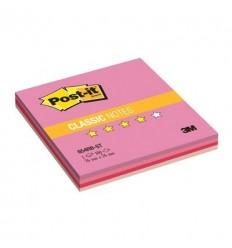 Бумага для заметок Post-it Classic 76х76мм, Клубничная радуга, 100 листов