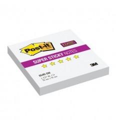 Бумага для заметок Post-it Super Sticky 76x76мм, желтый неон, 90 листов