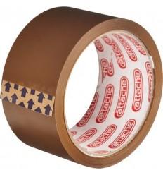 Клейкая лента упаковочная Attache, 50мм x 50м, 40мкм, коричневая