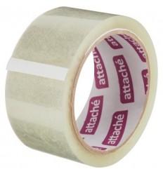 Клейкая лента упаковочная Attache, 48мм x 60м, 40мкм, прозрачная