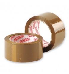 Клейкая лента упаковочная Attache, 50мм x 66м, 50мкм, коричневая