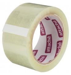 Клейкая лента упаковочная Attache, 48мм х 80м, 45мкм, прозрачная