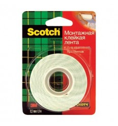 Двусторонние монтажная лента 3M Scotch Mount110, 12.7ммх1.9м