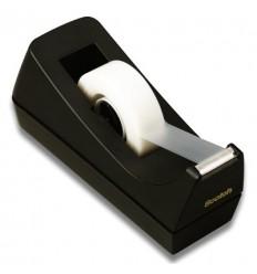 Диспенсер для клейкой канцелярской ленты 3M Scotch с-38,  черный