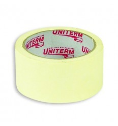 Малярная клейкая лента (бумажная) Uniterm, 48мм х19м