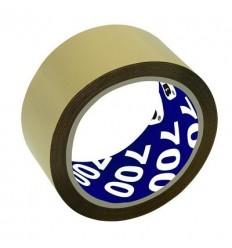 Клейкая лента упаковочная UNIBOB 700, 50мм х66м, 47мкм, коричневая