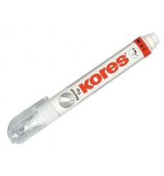 Корректирующий карандаш Kores Metal Tip, 8мл., быстросохнущая основа