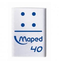 Ластик Maped Domino, 32х22х10мм, универсальный, виниловый