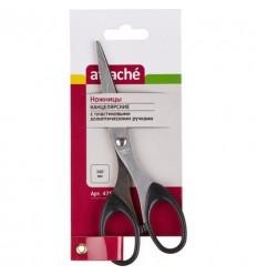 Ножницы Attache, 17см с пластиковыми эллиптиескими ручками