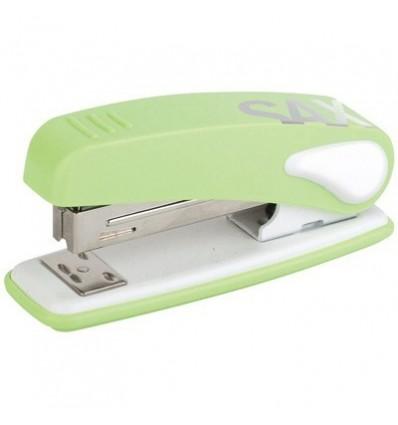 Степлер Sax Design до 25 листов (N24/6), светло-зеленый