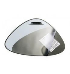 Настольное покрытие DURABLE VEGAS D7208 с прозрачным верхним листом, 690х510мм, черное