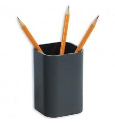 Подставка-стакан для канцелярских мелочей, ручек Attache City, черная