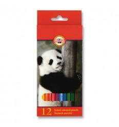 Набор цветных карандашей Koh-I-Noor 3552, 12 цветов