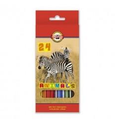 Набор цветных карандашей Koh-I-Noor 3554, 24 цвета