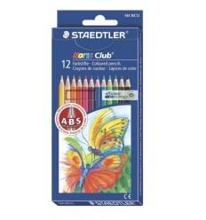 Набор цветных шестигранных карандашей STAEDTLER Noris Club, 12 цвето