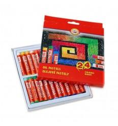 Масляная пастель KOH-I-NOOR GIOCONDA 8314, L60мм, d9мм, 24 цвета