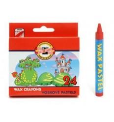 Восковые мелки Koh-i-Noor WAX Crayons, 6 цветов
