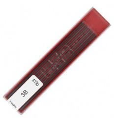 Грифели для цанговых карандашей Koh-i-Noor 4190/3В, 2,0 мм, 12 штук