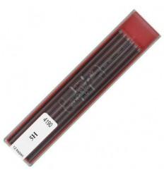 Грифели для цанговых карандашей Koh-i-Noor 4190/5H, 2,0 мм, 12 штук