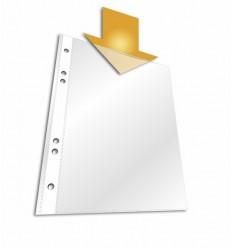 Файл-вкладыш DURABLE 2672, А4, 48мкм, глянцевый 100 штук