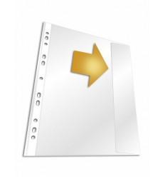 Файл-вкладыш с клапаном DURABLE 2664, А4, 135мкм, из полипропилена, 5 штук