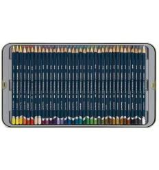 Набор цветных карандашей Derwent Artists 36 цвета, в металлической коробке