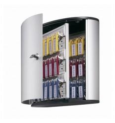 Ключница на 36 ключей DURABLE KEY BOX 1952, серебристая, 280х302х118мм