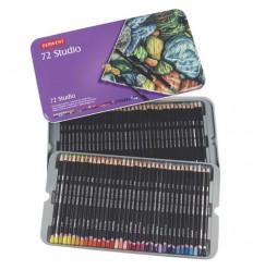 Набор цветных карандашей Derwent Studio 72 цвета, в металлической коробке