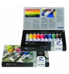 Набор масляных красок Royal Talens VAN GOGH Базовый - 10 цвета по 20мл