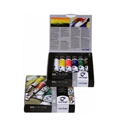 Набор масляных красок Royal Talens VAN GOGH Стартовый - 6 цвета по 20мл