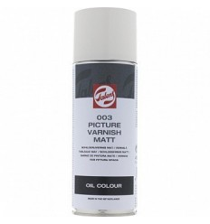Лак покрывной для масла ROYAL TALENS (003), аэрозоль, матовый, 400мл