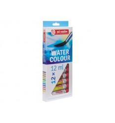 Акварельные краски в тюбиках ArtCreation ROYAL TALENS, 12 цветов по 12 мл