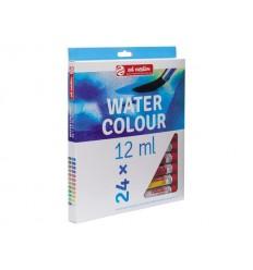 Акварельные краски в тюбиках ArtCreation ROYAL TALENS, 24 цвета по 12 мл
