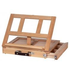 Мольберт настольный CALLISTO ArtCreation, с ящиком для хранения