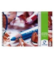 Альбом для графики Van Gogh ROYAL TALENS, 21х29,7см, 160гр, 40л спираль