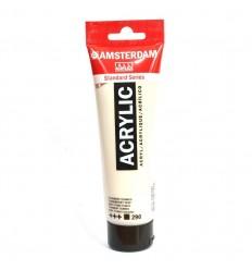Акриловая краска AMSTERDAM ROYAL TALENS туба 120мл, цвет №290 Титановый серо-палевый темный