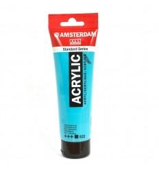 Акриловая краска AMSTERDAM ROYAL TALENS туба 120мл, цвет №522 Бирюзовый