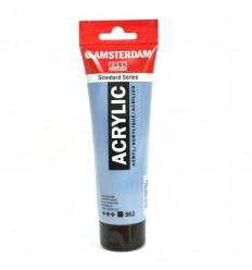 Акриловая краска AMSTERDAM ROYAL TALENS туба 120мл, цвет №562 Синий сероватый