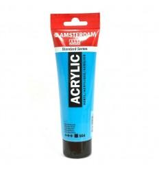 Акриловая краска AMSTERDAM ROYAL TALENS туба 120мл, цвет №564 Синий яркий